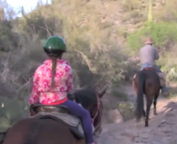 Trail Riding in the Sonoran Desert – Arizona