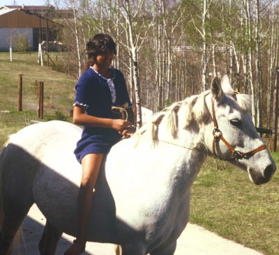 Dobbin & Me (age 11). This picture says it all!