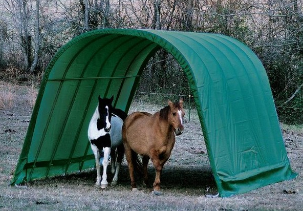 Portable Shelters For Horses Listen To Your Horse