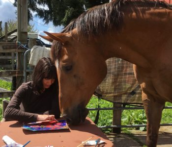 Holding Art Circles with Horses